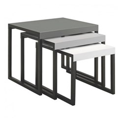 Kilo Nest of tables, grey