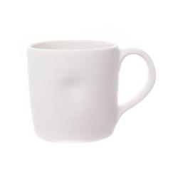 Pinch Set of 4 mugs, D8.9 x H8.9cm, White