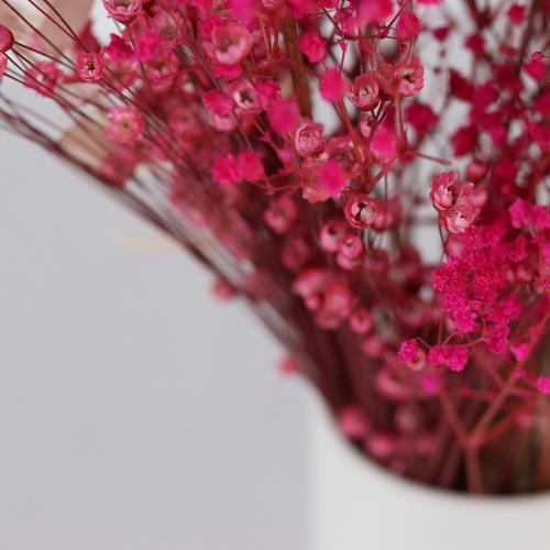 Pinks Medium hand-tied bouquet, H36-42cm, Pink