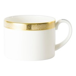 Satori Black Teacup - Charnwood, 22cl, black/white/gold