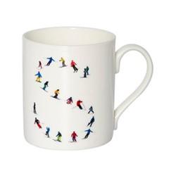 Alphabet - S Mug, H9.5 x W10.5 x D8.5cm - 35cl, multi