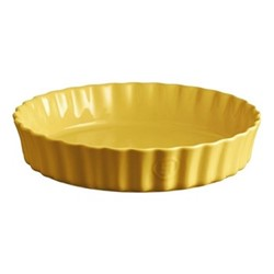 Provence Set of 3 large tart dishes, L33.5 x W33.5cm - 200cl, yellow