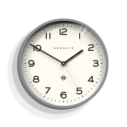 Echo Number Three Wall clock, Dia 37cm, posh grey