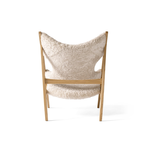 Knitting Lounge chair, H92 x W71 x D67cm, Beige