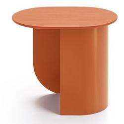 Plateau Side table, 32 x 39.5 x 44cm, caramel/ash