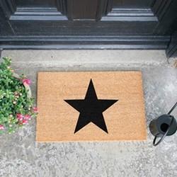 Star Doormat , L60 x W40 x H1.5cm
