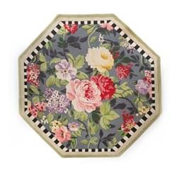 Tudor Rose Rug, D182.88cm, multi