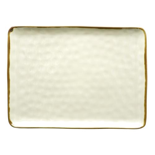 Concerto Rectangular tray, L36 x W26.5cm, Ivory