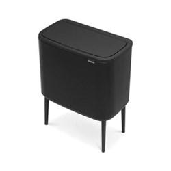 Bo Touch bin, 11 + 23 litre, matt black