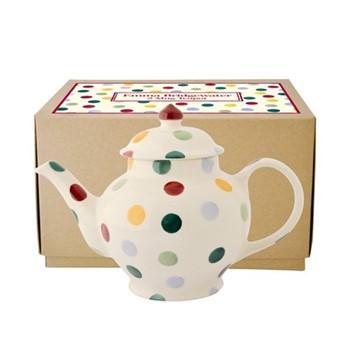 Polka Dot Teapot, 2 mug