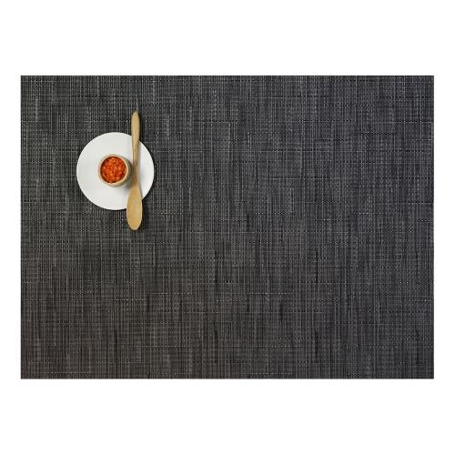 Bamboo Set of 4 rectangular placemats, 36 x 48cm, Smoke