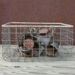 Wire basket 20 x 38 x 38cm