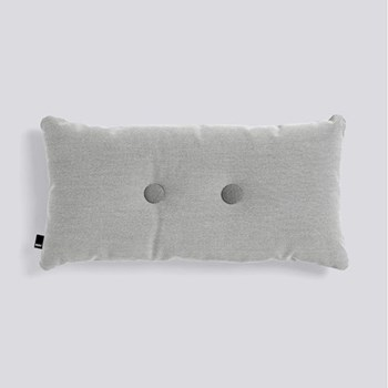 Steelcut Trio 2 Dot Cushion, H70 x L36cm, light grey