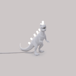 Jurassic - T rex Lamp, L39 x W13 x H33.5cm, White