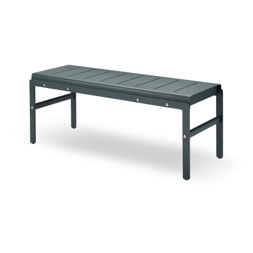 Reform Bench, W110 x D40 x H45.5cm, Hunter Green