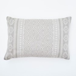 Kalkan Cushion, L60 x W40cm, chinchilla