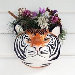Tiger Wall vase, L17 x D16 x H16cm