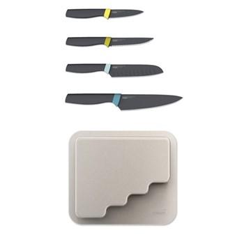 DoorStore Set of 4 knives, grey