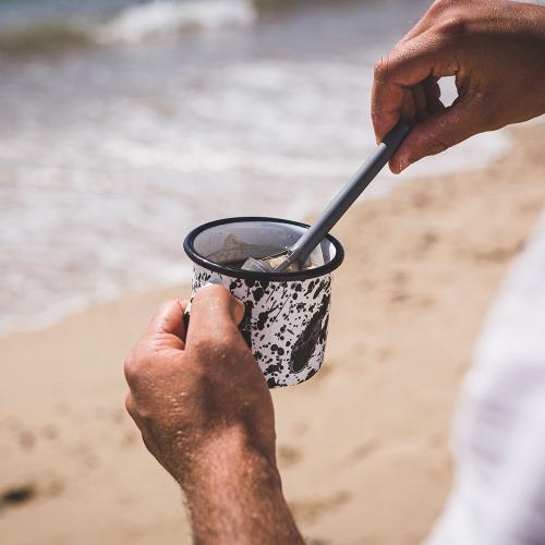 Brew It Stick Coffee and tea infuser, L6.4 x W6.4 x H20cm, teal