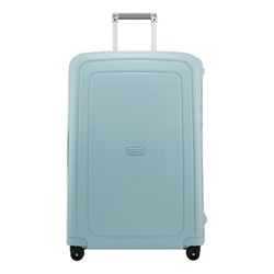 S'Cure Spinner suitcase, 75 x 52 x 31cm, stone blue stripes
