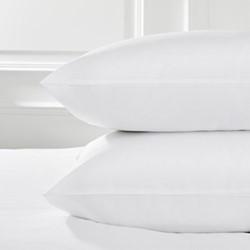 Savoy - 400 Thread Count Standard pillowcase, 50 x 75cm, white