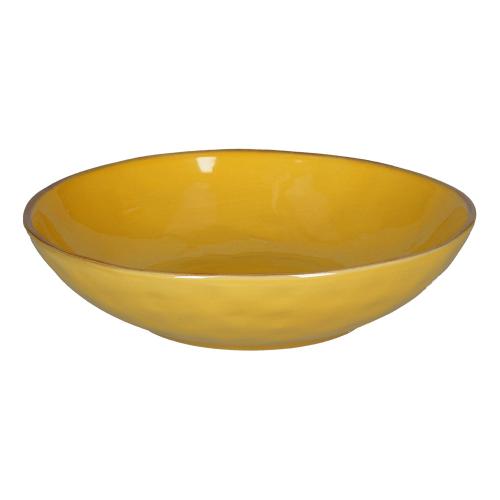Concerto Set of 4 soup plates, Dia21cm, Yellow
