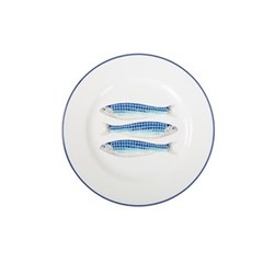 Set of 4 side plates 23cm