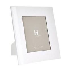 "Lacquer Photograph frame, 8 x 10"", white"