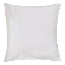 Ebba Square cushion cover, 65cm, White