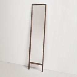 Trieste by Matthew Hilton Floor standing mirror, W45 x H180cm, walnut