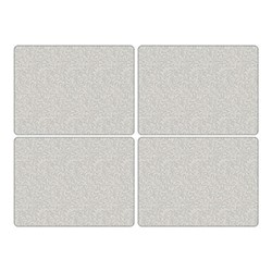 Pure Morris - Willow Bough Set of 4 large placemats, 40 x 30cm, grey/white
