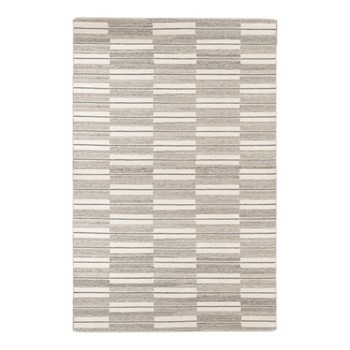 Spindle By Eleanor Pritchard Rug, W200 x L300 x D1cm, warm grey