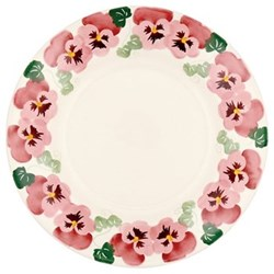 Pink pansy Plate, 27.5cm