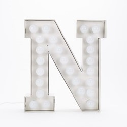 Vegaz N Letter light, H60cm
