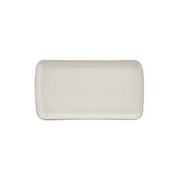 Natural Canvas Small rectangular platter, 26 x 14.5 x 2.5cm