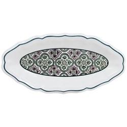 Dominoté - Medicis Pickle dish, 26.5 x 13cm