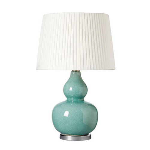 Calabash Table lamp (base only), H42 x D28cm, Pebble Ceramic