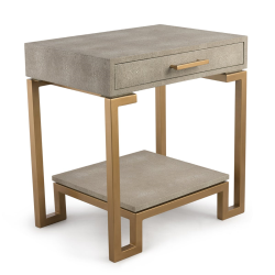 Flex Side table, W52 x H60 x D40cm, Cream