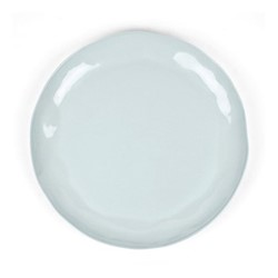 Huge serving platter, D37 x H3cm, pale blue