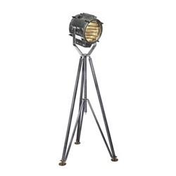 Marconi Spotlight Floor lamp, H195 x W100 x L100cm, silver