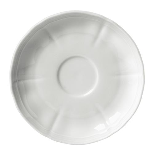 Antico Doccia Coffee saucer, 13.5cm, white