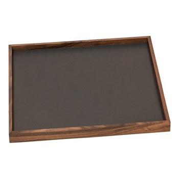 Phorma Square tray, 32cm, smoke