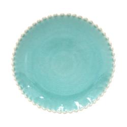 Pearl Set of 4 salad plates, 22cm, aqua