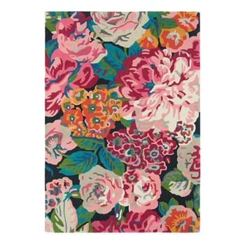 Rose & Peony Rug, 170 x 240cm, cerise