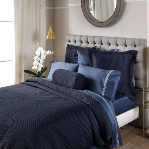 Christobel Double bedcover, 240 x 260cm, Midnight Polyester