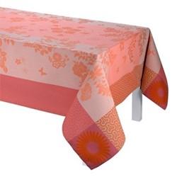 Asia Mood Tablecloth, 220 x 380cm, tea pink