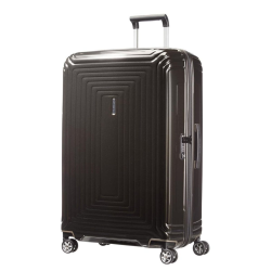 Neopulse Spinner suitcase, 81cm, metallic black