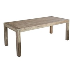 Old England Distressed table, 200 x 90cm, acacia