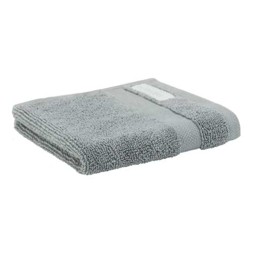 Organic Cotton Eden Hand towel, 50 x 100cm, Blue Shadow