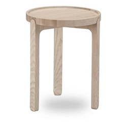 Indskud Tray table, Dia34 x H43cm, oak